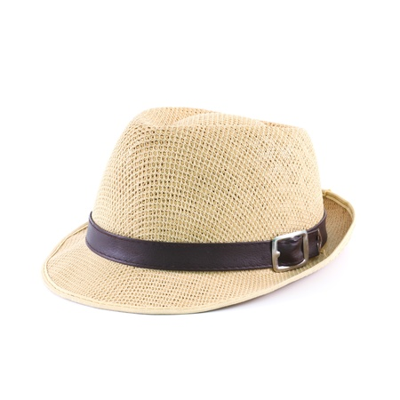 hat isolated on a white background photo