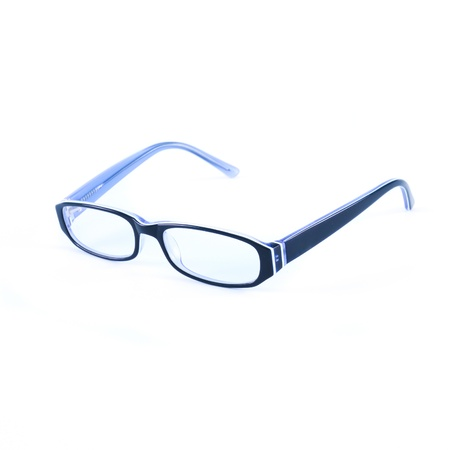 educations: eyeglasses isolated on the white backogrund