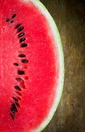water melon: Texture of uncolored wooden lining boards,background