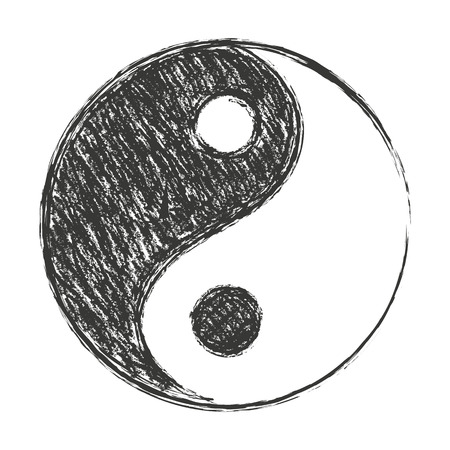 yin et yang: un symbole du yin yang