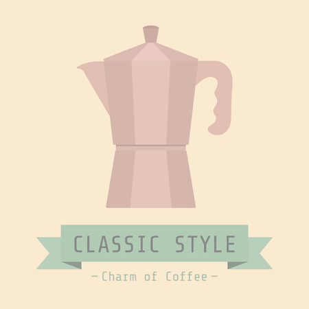 brew: brew coffee by classic style, Charm of coffee