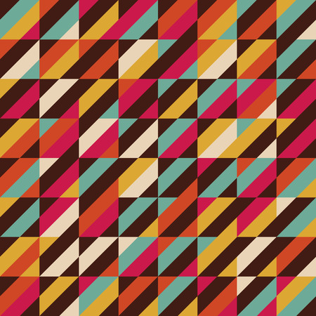 retro pattern: retro color stripe seamless pattern, vintage background