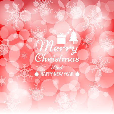 countdown: merry christmas and happy new year background Illustration