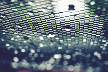 background of mesh with drop, vintage style