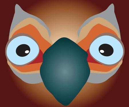 big-eyed bird Stock Vector - 10644434