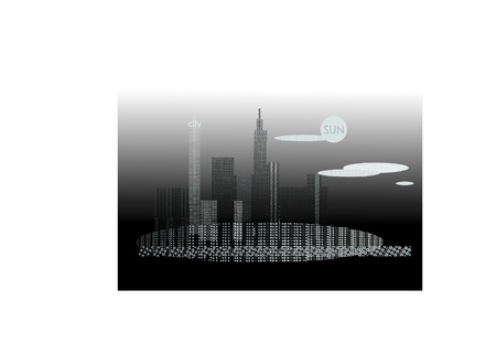 city Stock Vector - 10644481