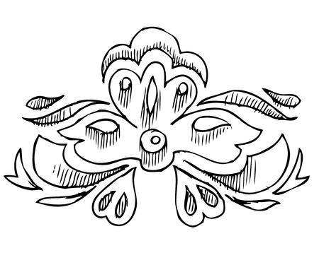 frizz: a elements of various dekora is black