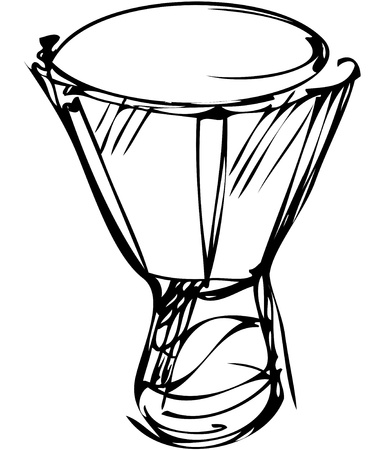 wooden leg: a sketch of percussion instruments a orchestra