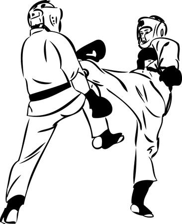karate fighter: Karate Kyokushinkai  martial arts  sports