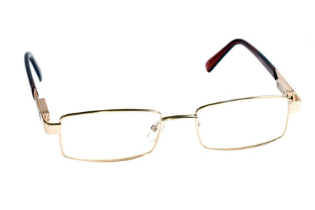 protecting spectacles: glasses of gold color for dull sight