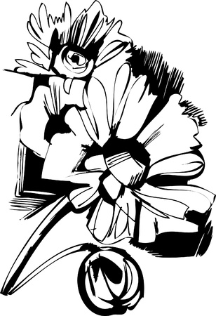 poppy field: un ramo de flores silvestres