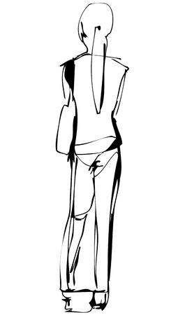 disegnare una ragazza bionda esile costa a noi