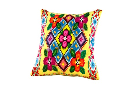 pillows with a pattern photo