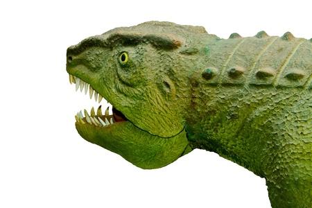 ferocious: postozuh archosaur ferocious predator Stock Photo