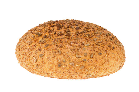 a homemade bread with sesame and sunflower seeds photo