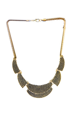 image beautiful original gold necklace for women photo