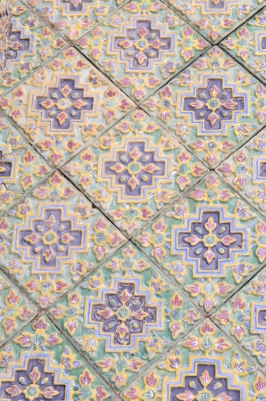 thai chinese tile photo