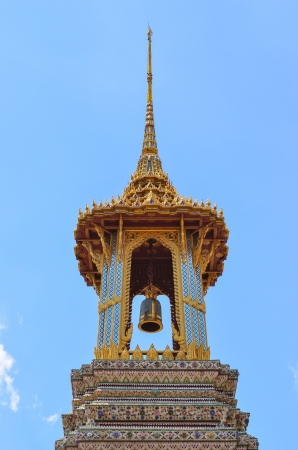 bell tower, wat phra kaew photo