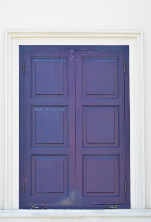 blue thai classic door photo