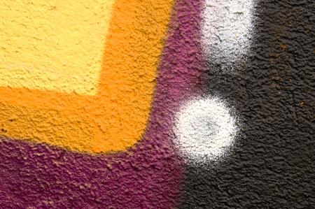 fresco: Detail of a graffiti as wallpaper, texture
