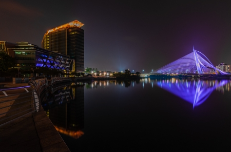 nightscape at Putrajaya photo