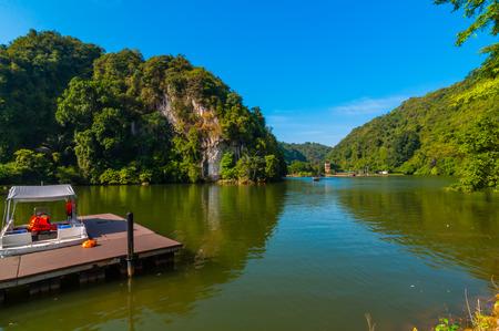 lang: Lang mountain recreational park  jetty