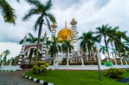 malaysia culture: Ubudiah mosque Stock Photo