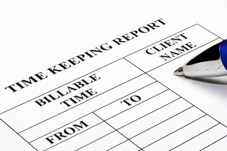 Billable hours time keeping report photo
