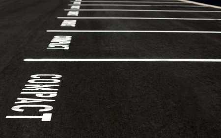 parking space: Compact parking spaces