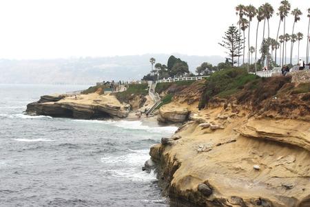diego: La Jolla coves at San Diego California
