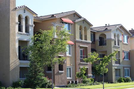 Modern apartment complex
