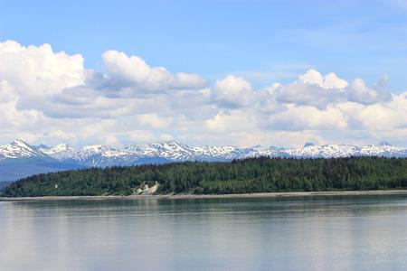 Beautiful landscape of Inside Passage Alaska