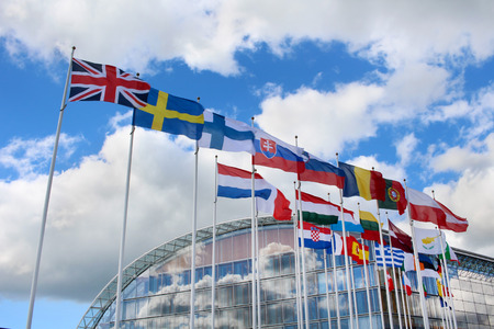 Flags of the member states of the European Union Stok Fotoğraf - 41770786