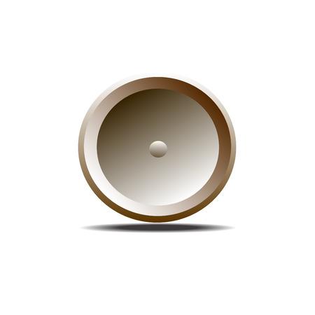 brown: Brown button