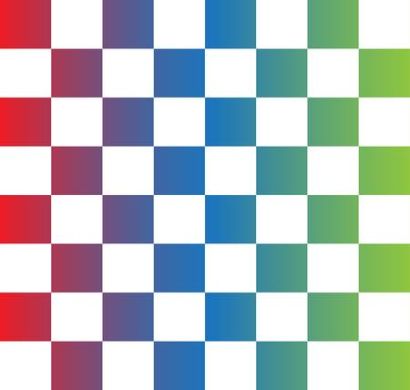 tablero de ajedrez: tablero de ajedrez colorido