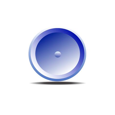 blue button: Blue button