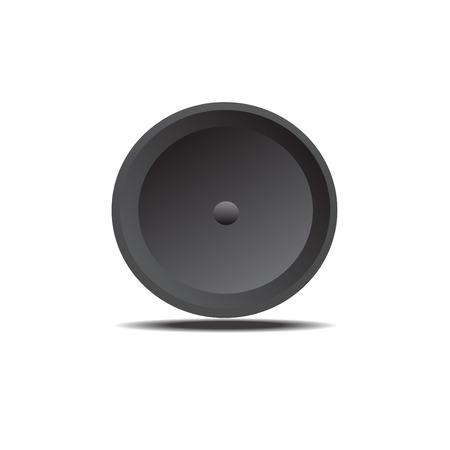 black: Black button
