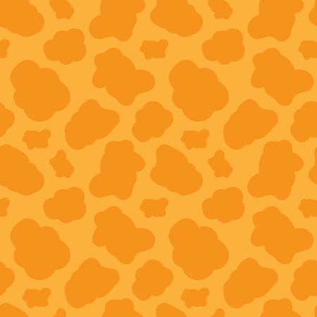 Seamless pattern with giraffe skin texture. Vector illustration. Foto de archivo - 113480133