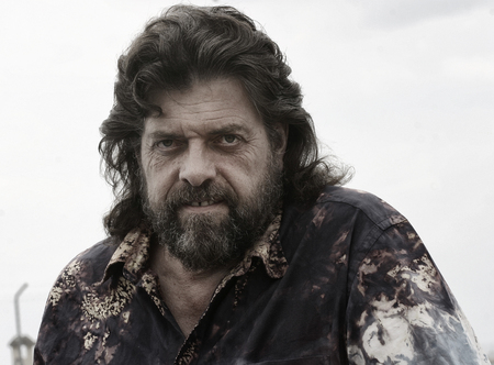 British musician, producer and sound engineer Alan Parsons is seen  in the island of Mallorca (Spain) during his world tour 2005. music