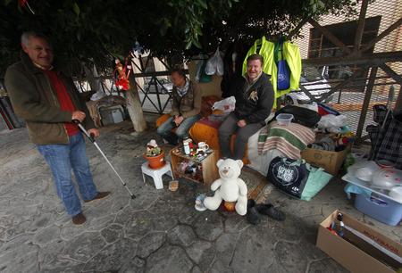 February 1, 2013 - homeless people