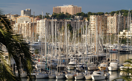 November 13, 2012 -Palma de Mallorca´s port.