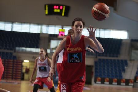 Palma de Mallorca, Spain - June 27, 2018 - Spain National Basketball women team during a training session in Palma de Mallorca