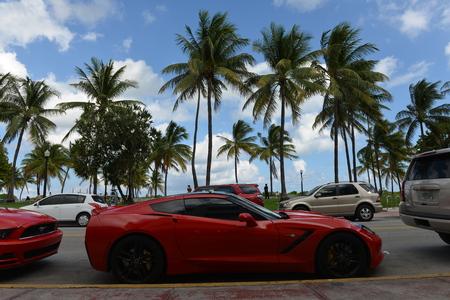 corvette: red corvette