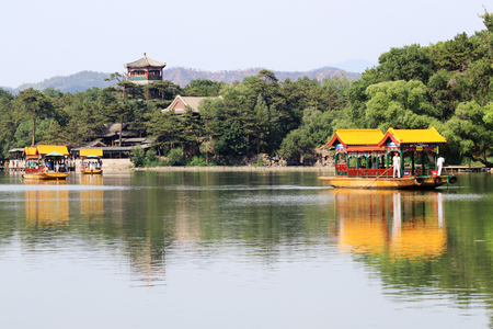 summer scenery in Mountain Resort, Chengde, Hebei
