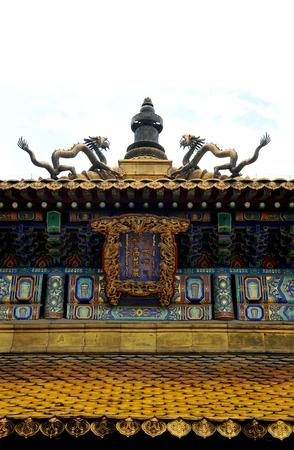 Temple of Fu Shou in Chengde, Hebei 新聞圖片