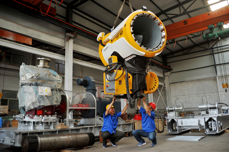 Hebei Xuanhua develops ice and snow equipment manufacturing industry to promote traditional industrial transformation and upgrading