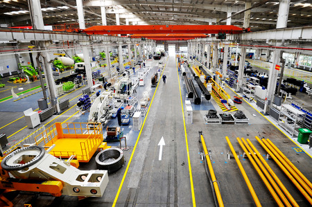 Hebei Xuanhua: heavy-duty special-purpose vehicle manufacturing factory