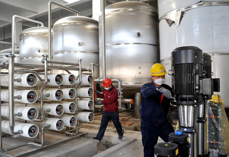 The production line of Qingdao Beer Zhangjiakou Industrial Park is installed in an orderly manner. Redakční
