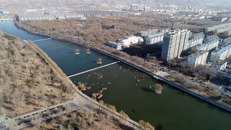 Hebei Xuanhua ancient city scenery Stock Photo