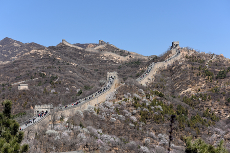 Great Wall scenery in China